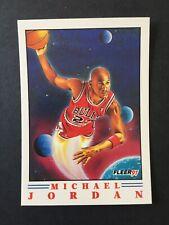 MICHAEL JORDAN 1990-91 Fleer Pro Visions Insert Card #2 of 6 - FREE SHIPPING!