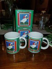 Willitts Mugmania Vintage 1985 Duck Mug Set Of 2