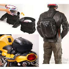 Waterproof Sport luggage backpack Motorcycle Seat & Tail Storage saddle Bag New