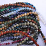 Natural Round Gemstone Loose Spacer Beads DIY Jewelry Craft Making 4/6/8/10/12mm