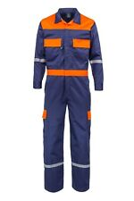 Kolossus Deluxe Long Sleeve Cotton Blend Coverall Enhanced Visibility Kc01