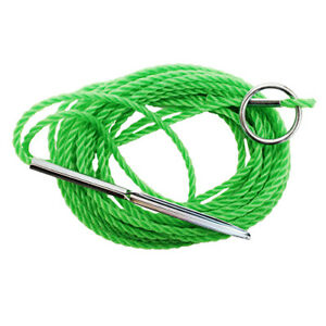 Eagle Claw 12' Heavy Duty Polyethylene Twisted Fish Stringer Green 04300-003