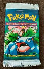 Pokemon French Base Set Booster Pack 1st Edition
