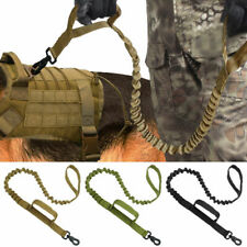Military Dog Leash Nylon Bungee Strong Tactical Training Leash for K9 Pit Bull