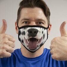 Dalmatian Dog Face Mask Reusable Washable Unisex Face Cover Cloth Usa Seller