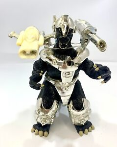 "Power Up Snap On Armor Godzilla 1995 Trendmasters Rare Figure Ghidorah Rodan 6"""