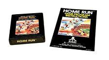 Homerun (Atari 2600) Cart & Manual, Tested