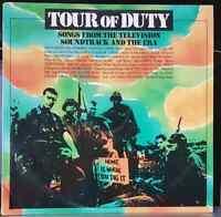 Various – Tour Of Duty soundtrack - 1988 LP record excellent, cover VG