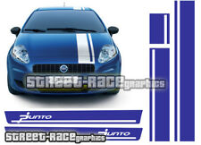 Fiat Punto OTT001 racing stripes decals graphics stickers sides bonnet roof rear