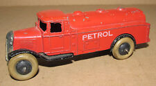 Vintage Meccano Dinky Toys Petrol Tanker With Open Type Chassis
