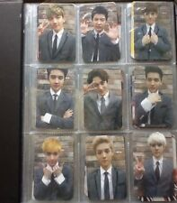EXO Growl (으르렁) [TYPE A] Photocard Set Kpop K-Pop All fm PC