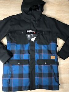 Quiksilver Reply Jacket - Ski & Snowboard Dry Flight 10k Waterproof New With Tag