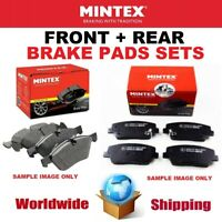 MINTEX FRONT + REAR Axle BRAKE PADS SET for TOYOTA RAV 4 IV 2.5 2012->on