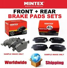 MINTEX FRONT + REAR Axle PADS for JEEP GRAND CHEROKEE 6.1 SRT8 4x4 2006-2010