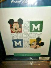 Mickey Logo ~  Counted  Cross Stitch Kit ~Disney