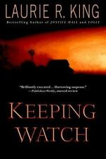 KEEPING WATCH a novel by Laurie R King FREE SHIPPING paperback book suspense