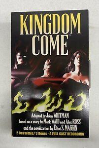 Kingdom Come (1998) DC Comics Audiobook 2 Cassettes/3 hours- Full Cast Recording