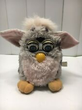 Vintage 1998 Furby Grey With Black Spots Tested Working