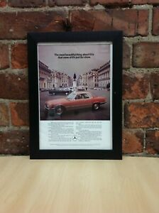 Framed Original Vintage Advertisement from Country Life Magazine June 20, 1974
