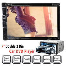 "7"" HD Double 2Din Stereo Car DVD CD MP5 Player Bluetooth In Dash FM Radio AUX US"