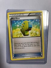 Max Elixir Trainer Pokemon Card 102/122 Breakpoint Near Mint Minus Condition NM-