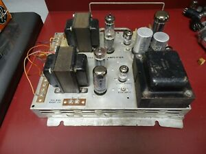AMI-Rowe Model R-4359A Stereo Tube Amplifier, 7868 Quad Output
