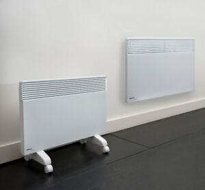 Noirot 7358-7 Spot Plus 2000W Panel Heater with Castors Included