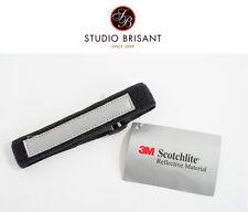 NEW Hosenband reflektierend - 3M Scotchlite schwarz