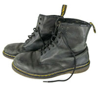 Doc Martens Thrashed Mens Boots Size 11 M Classic 1460 8-Eye Lace Up Grunge Worn