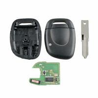 Fernschlüssel Für Renault Master Clio Kangoo Twingo Schwarz 433MHz PCF7946 Chip