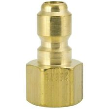 "Foster 25Fpb St Series 1/4"" Female Npt Brass Plug Quick Lot Of 38"