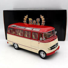 BOS 1:18 Mercedes Benz 0319 1957 Red BOS211 Resin Models Limited Collection
