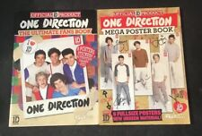 2 x One Direction Ultimate Fans & Mega Poster Book Brand New