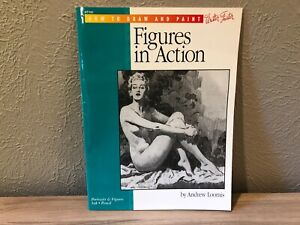 Andrew Loomis FIGURES IN ACTION Large Format HOW TO DRAW AND PAINT (SC HT191)