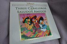 The Three Caballeros & Saludos Amigos Laserdisc Exclusive Archive CAV Edition LD