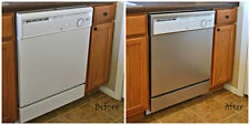 "26"" x 36"" Brushed Satin Stainless Steel Panel to Update Dishwashers"