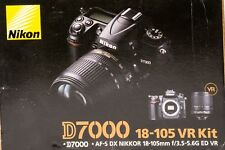Nikon D7000  w/ 18-105mm VR Lens - (((( EMPTY BOX ONLY ))))  Fast Shipping