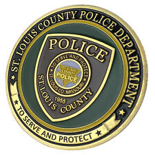St. Louis County Police Department / SLCPD G-P Challenge Coin 1158#