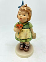 Hummel Goebel Collector Club No 12 The Surprise 431 Girl w/ Flowers Signed 1988