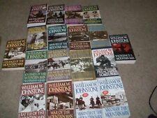 Lot of 18 William W. Johnstone Bks/ Westerns/ Mountain Man Bks/ Johnstone