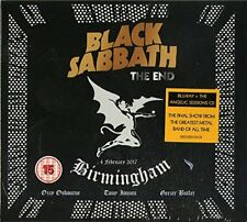 Black Sabbath - The End (BLU RAY & CD SET) SEALED