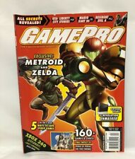 GAMEPRO Exclusive Metroid and Zelda February 2006 Magazine With Inserts