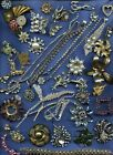 3Absolutely+Broken+Vintage+Rhinestone+Parts+%26+Pieces+for+Crafts+Parts+not+Repair