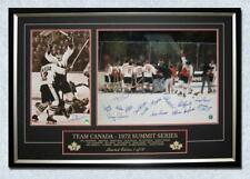 1972 Summit Series Team Canada Victory 40x28 Frame LE #/72 - 16 Autographs