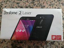 "Asus ZenFone 2 Laser Smartphone, Display da 5"", 16 GB, Dual SIM, Nero + scatola"