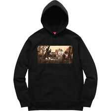 SUPREME x Black Sabbath Hooded Sweatshirt Black M box logo camp cap tnf S/S 16