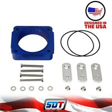 SDT 1997-2003 Ford F-150 High Performance Blue Throttle Body Spacer 4.6L 5.4L
