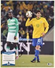 Ricardo Kaka Signed 11x14 Photo Autograph Team Brazil A~ Beckett Bas Coa
