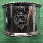 c1930 Original Emmigrant Ship ANCHOR LINE plated Napkin Ring No 16