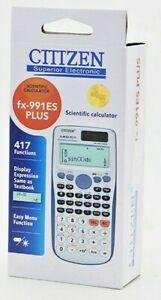 CITIZEN SUPERIOR FX-991ESPLUS Scientific Calculator  A/O LEVEL 417 FUNCTIONS